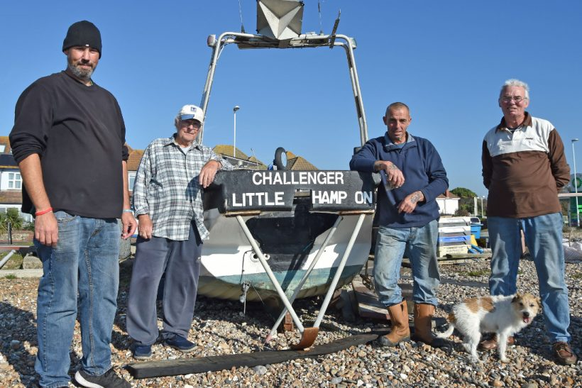 Worthing's beach fishermen continue to survive