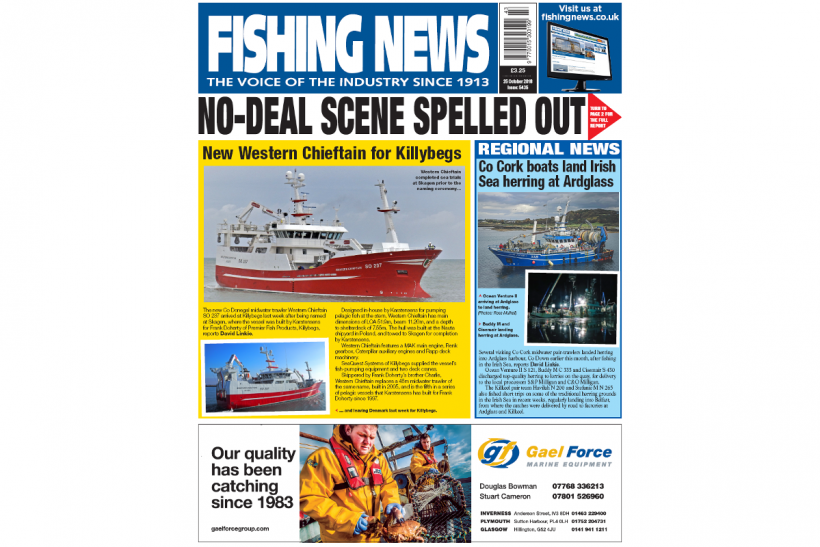 NEW ISSUE: FISHING NEWS 25.10.18