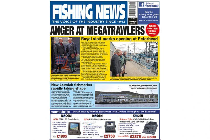 NEW ISSUE: FISHING NEWS 11.10.18