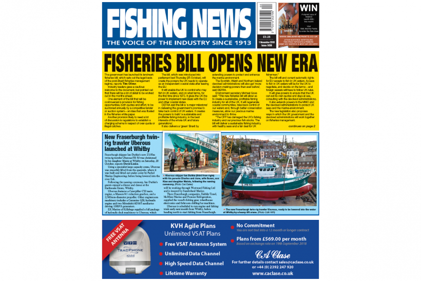 New Issue: Fishing News 01.11.18