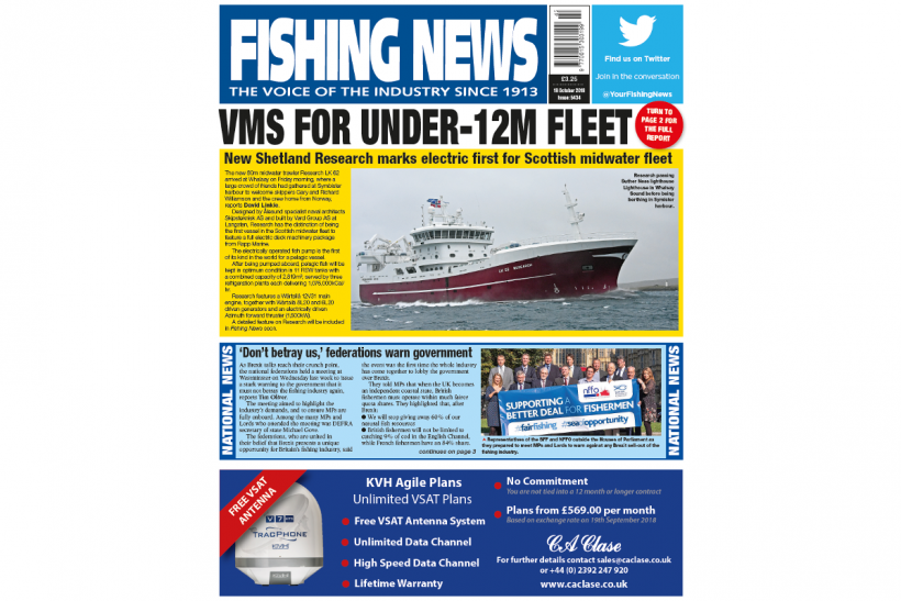 NEW ISSUE: FISHING NEWS 18.10.18