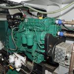Joyful Spirit's Volvo Penta D5 MG auxiliary/generator set.