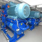 22 Three MMC refrigeration plants generate 3.2mkCal/hr.