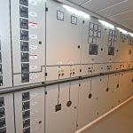 31 Main electrical distribution cabinets.
