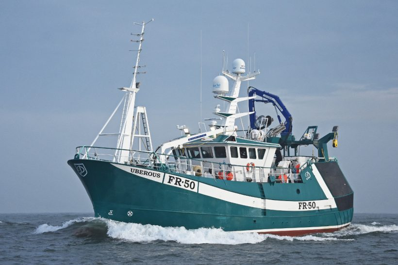 UBEROUS – Whitby-built 24m twin-rig trawler joins Fraserburgh prawn fleet