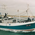 The second Uberous, after being converted to twin-rig trawling in 1998.