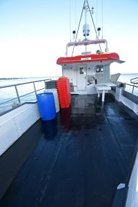 Soph-Ash-Jay 3's extensive working deck enables 36in parlour pots to be worked in fleets of 50…