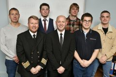 Whitby Fishing School apprentice awards
