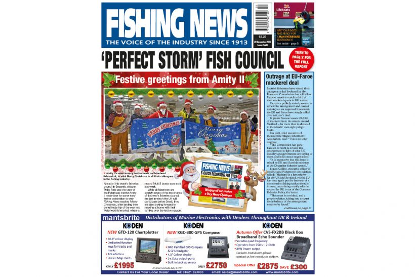 New Issue: Fishing News 20.12.18