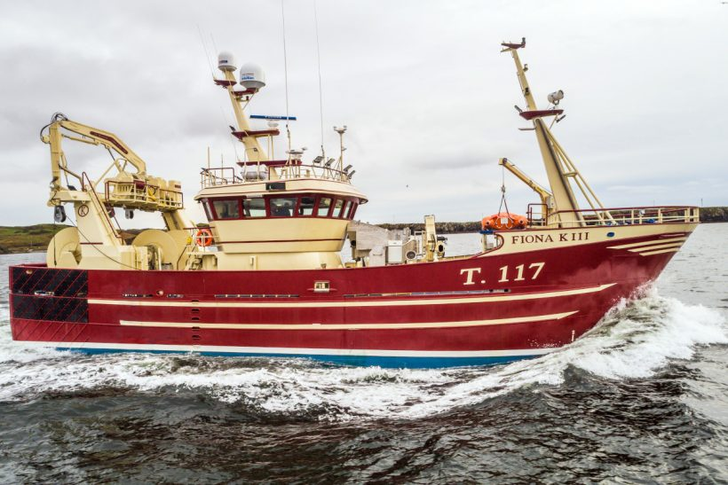 Fiona K III: Versatile 27.5m trawler built in Co Donegal for Co Kerry owners