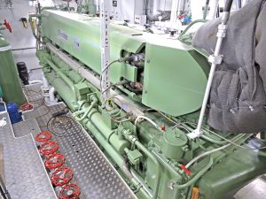 Engineroom machinery includes an ABC propulsion unit…