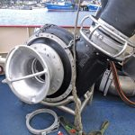 … directly above the SeaQuest 14in fish pump, positioned at the port quarter of the shelterdeck.