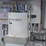 Geneglace 2.5t flake ice machine.
