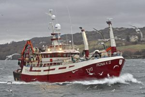 Fiona K II after being lengthened to 26.5m.