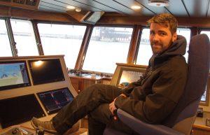Skipper Tomás Conneely.