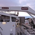 A SeaQuest 4t/11m knuckle-boom crane covers the foredeck.