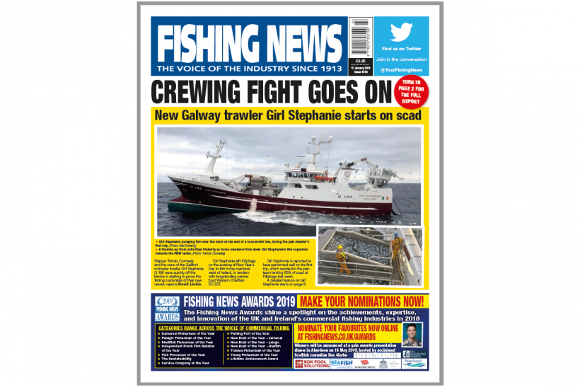 New Issue: Fishing News 17.01.19