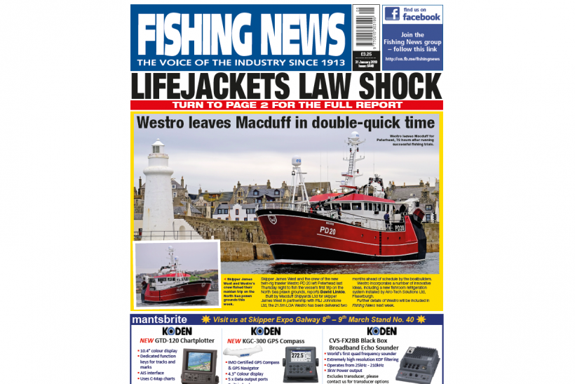 New Issue: Fishing News 31.01.19