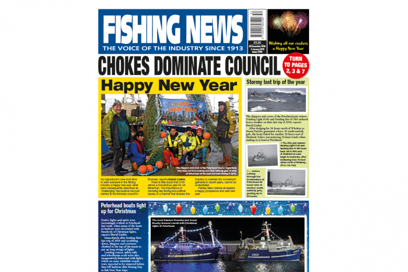 New Issue: Fishing News 03.01.19