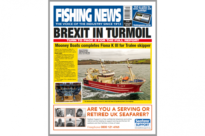 New Issue: Fishing News 24.01.19