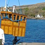 Lifting the old wheelhouse…