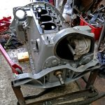… including fitting a new starter ring.