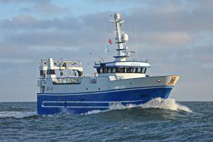 … on the versatile pair-seiner/trawler Audacious BF 83.