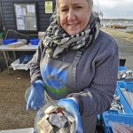 Fran recently started doing pickled herring, and they are going very well.