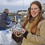 Julia was buying for herself and two friends, including 'a special present for someone who loves sprats'.