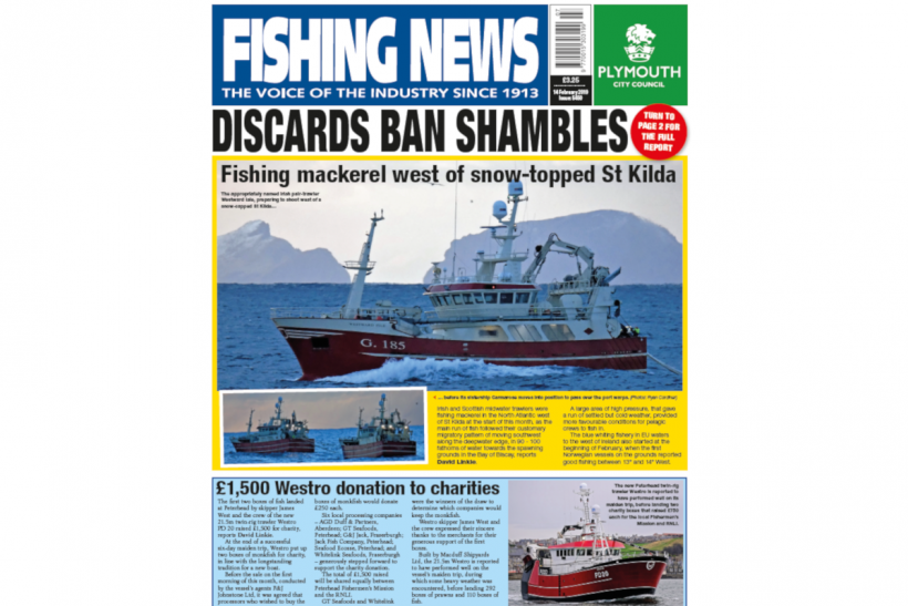 New Issue: Fishing News 14.02.19
