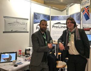 The Prolines team of naval architects will be on hand to meet skippers at Galway.