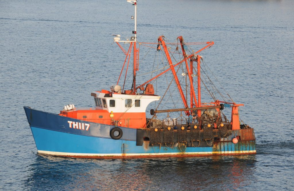 Girl Rona TH 117 was the second boat of the same name and number that Reg Matthews owned. (Photo: Martin Johns)