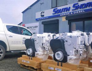 South Shore Marine and Diesel is agent for Cummins engines and generators.