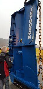 Thyborøn's new Type 23 Bluestream trawl doors.