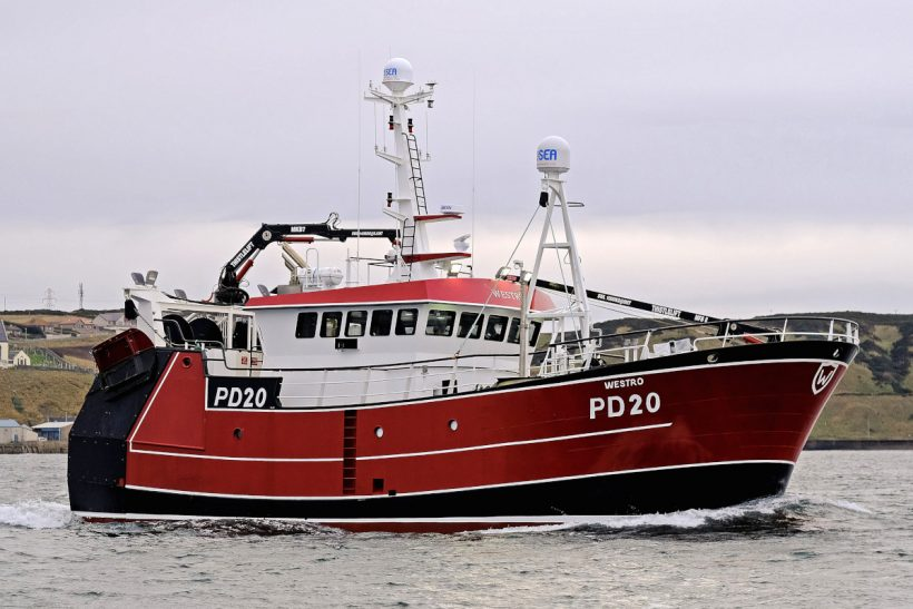 Innovative ideas on customised twin-rig prawn trawler Westro