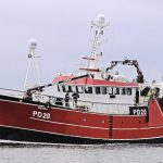 Westro is now fishing prawns from Peterhead.