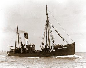 William Oliver sailed as mate in the Shakespeare in 1905, during the period the skipper of the Cecil Rhodes was serving a six-month suspension of his skipper's certificate after the grounding of that vessel. That year saw the first landings from the Murmansk coast of Russia, popularly but wrongly called the 'White Sea' grounds. Shakespeare H 406 was lost in 1907 when she was at Breckness, near Stromness, Orkney.