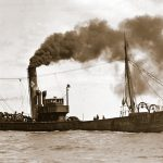 In 1906, William Oliver sailed as mate in a new-build vessel, Ocean Queen.
