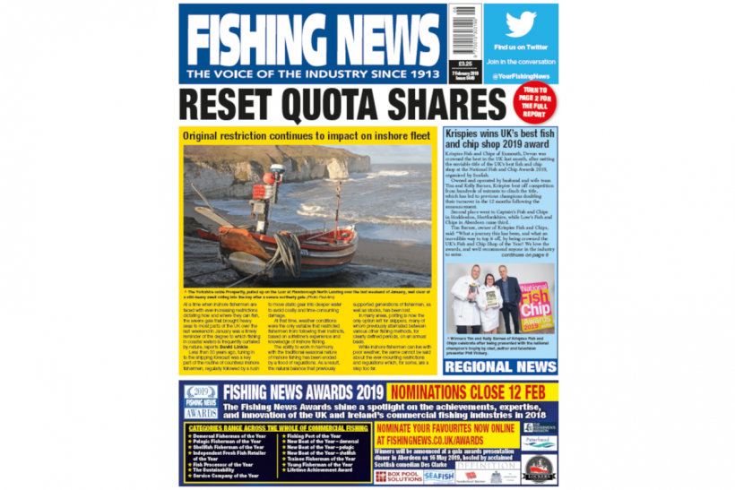 New Issue: Fishing News 07.02.19