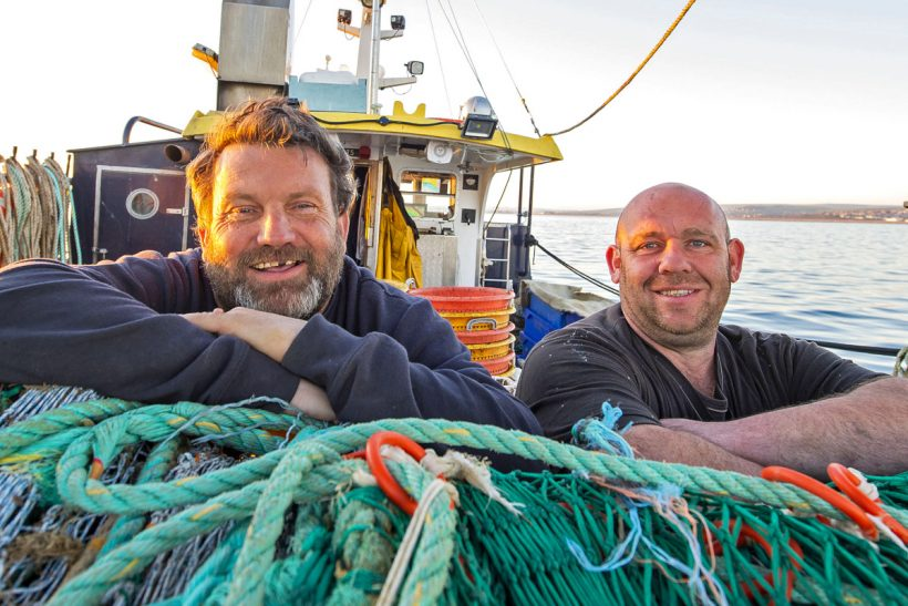 About Time – Trawling in the Channel from Newhaven