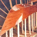 … was constructed using West System's epoxy resin and 2 x 4mm Anchor marine plywood.