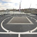 HMS Forth's flight deck provides enhanced operational efficiency.