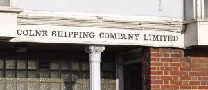 The last beamer company to work from Lowestoft was Colne Shipping.