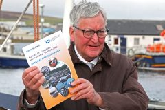 Scottish fisheries minister Fergus Ewing launched the national discussion paper in Orkney last week. (Photo: Tom O'Brien)