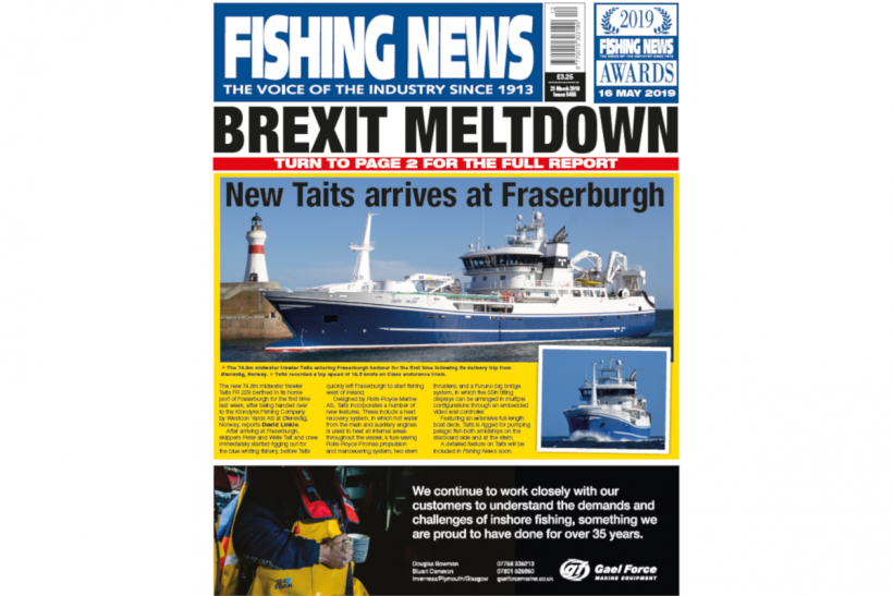 New Issue: Fishing News 21.03.19