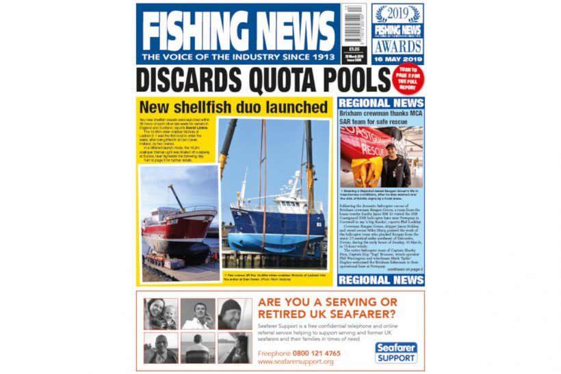 New Issue: Fishing News 28.03.19