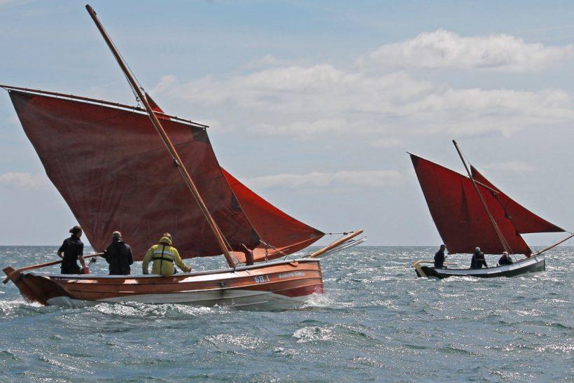 The revival of sailing cobles at Bridlington