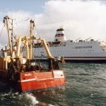 Nauru was one of many Plymouth trawlers that stopped the passage of Brittany Ferries in March 1993, an act that nearly landed the skippers in court – and at all times, they were aware of that risk.