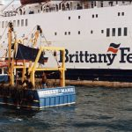 David and Goliath, as the Plymouth inshore scalloper Shelley Marie helped to prevent the passage of the Brittany Ferries ship Quiberon.