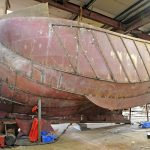 The under-10m vessel under build at C Toms & Son for Roger Klyne is a sistership to Saxon Spirit.